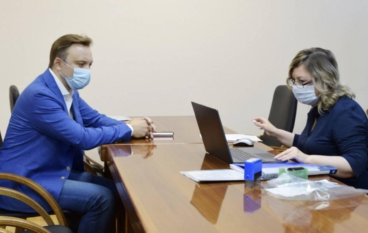 Игорь Игошин подал документы на выборы Госдуму