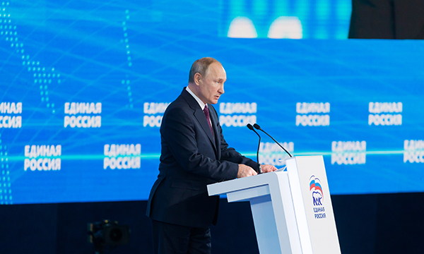 Президент призвал партийцев добиваться решения проблем на местах